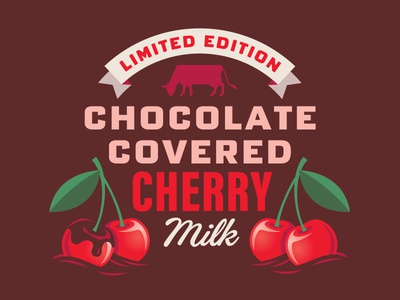 Turner's Chocolate-Covered Cherry Milk