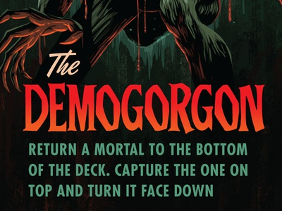 Campy Creatures Demogorgon Card