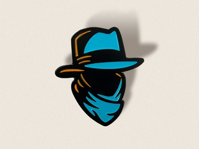 Campy Creatures Invisible Man Enamel Pin invisible man limited edition horror creatures monsters pins enamel pin