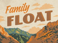 Echo canyon family float