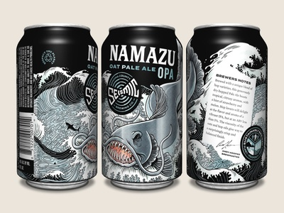 Seismic Brewing Co. Namazu OPA
