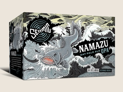 Seismic Brewing Co. Namazu 6-pack