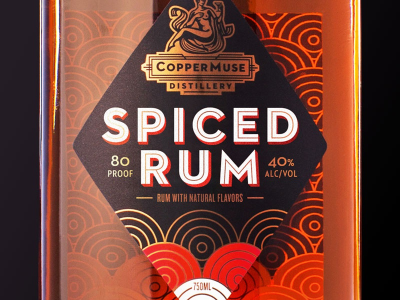 Coppermuse spiced rum