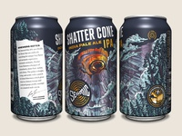 Seismic Brewing Co. Shatter Cone IPA