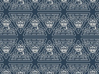 Dogs of Logic Logo Pattern