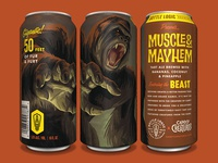 Bottle Logic Campy Creatures Muscle & Mayhem Tart Ale