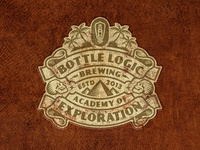 Bottle Logic 2018 Academy of Exploration Logo