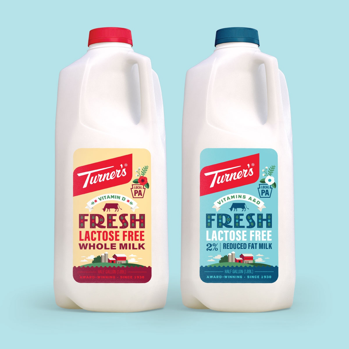 Turner lactose freeig