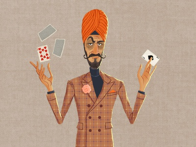 Caper Thief - The Illusionist (24/24) illusionist magician illustration character illustration game art character design