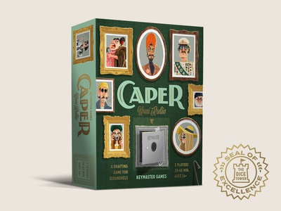 Caper Game - Dice Tower Seal of Excellence