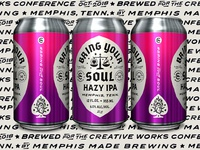 Creative Works - Bring Your Soul Hazy IPA - Cans