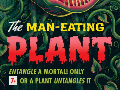 Campy Creatures Expansion I - Man-Eating Plant Type