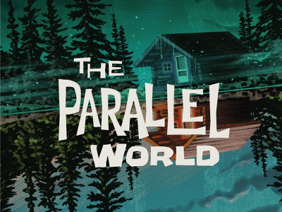 Campy Creatures Locations (7/9) - The Parallel World parallel world campy creatures boardgames typography game art pulp art illustration