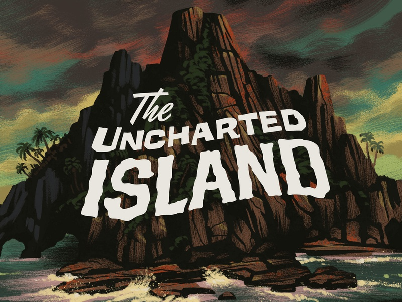 Campy Creatures Bonus Locations (1/3) - The Uncharted Island board games island pulp illustration pulp art illustration