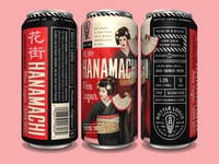 Bottle Logic Hanamachi Rice Lager Cans