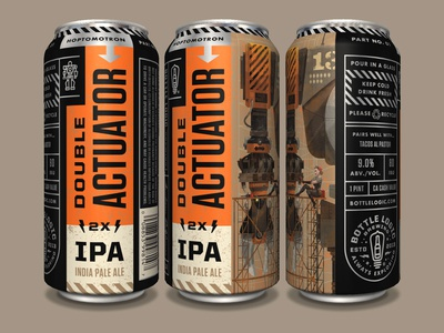 Bottle Logic Double Actuator IPA