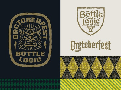 Bottle Logic Orctoberfest Identity