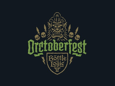 Bottle Logic Orctoberfest Logo