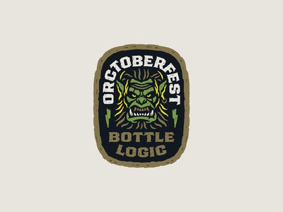 Bottler Logic Orctoberfest Sticker