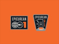 Bottle Logic Epicurean 1 Mission Patches