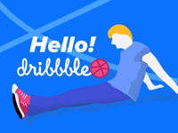Better later than never! Hello dribbble!