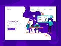 Team Work Web Templates
