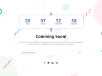 Comming Soon page