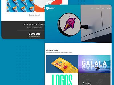Minimal Portfolio Concept ux uiux ui concept portfolio minimalist minimal