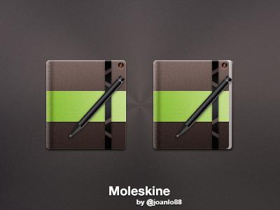 Moleskine Icons icon book moleskine pen