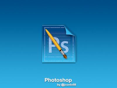 Photoshop icon photoshop brush