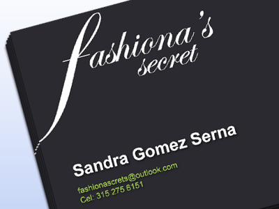Client Work - Businesscard bussinesscard client card