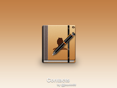 Contacts Book contacts pen icon book