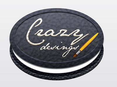 Crazy Desings logo brush