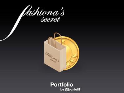 Portfolio Icon portfolio fashionas secret icon
