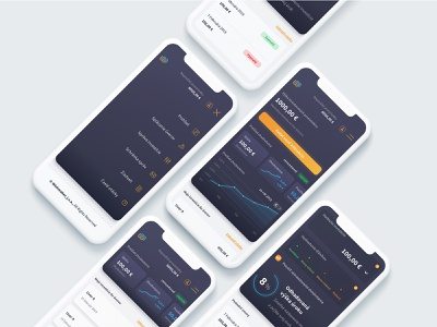 Wishmaker mobile version app webdesign aplication fintech mobile app user-interface user-experience ui ux design mobile ui mobile