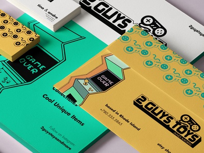 Brand Identity: Online Store for Video Games