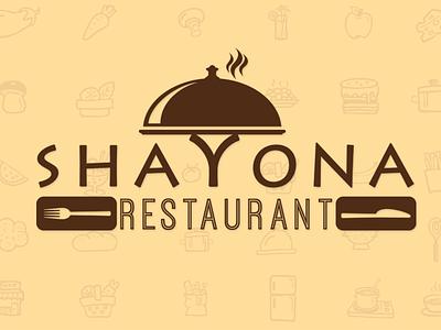 Logo   Shayona Restaurant graphics design branding logo