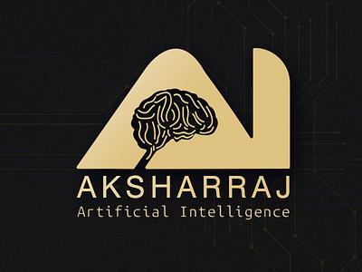 Aksharraj AI Hbr Patel Logo vector graphics design branding logo