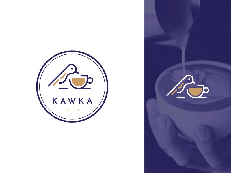 Kawka logo design czyzkowski logo design branding logo
