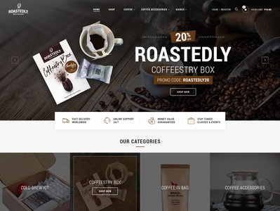 Rostedly coffee store