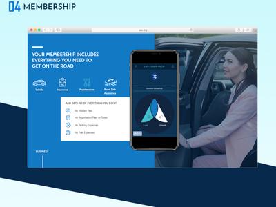 Ago Membership UI design