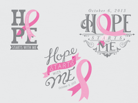 City of Hope Breast Cancer Walk T-shirt Designs