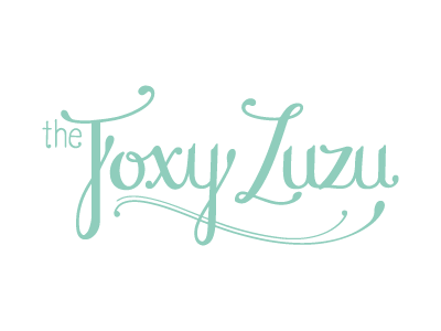 the Foxy Zuzu - round 2 lettering logo