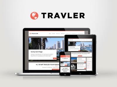 WP Travler — Responsive Multipurpose WordPress Theme wordpress creative responsive portfolio clean modern minimal