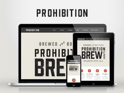 WP Prohibition — Responsive Creative WordPress Theme wordpress creative responsive portfolio clean modern minimal