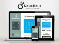 WP Neuehaus — Responsive Creative WordPress Theme
