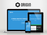 WP Origin — Responsive Creative WordPress Theme