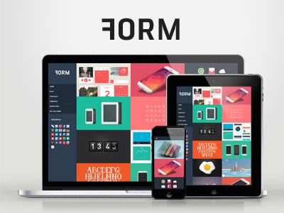 WP Form — Responsive Creative WordPress Theme wordpress creative responsive portfolio clean modern minimal