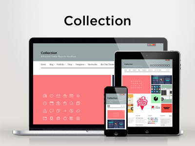 WP Collection — Responsive Creative WordPress Theme