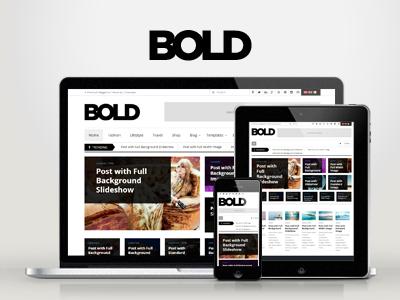 WP Bold WordPress Magazine & Review Theme wordpress responsive clean magazine review creative flat bold woocommerce modern news